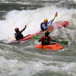 Kayaking along the Nile