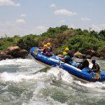 Rafting Along River Nile
