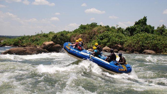 Rafting in Jinja