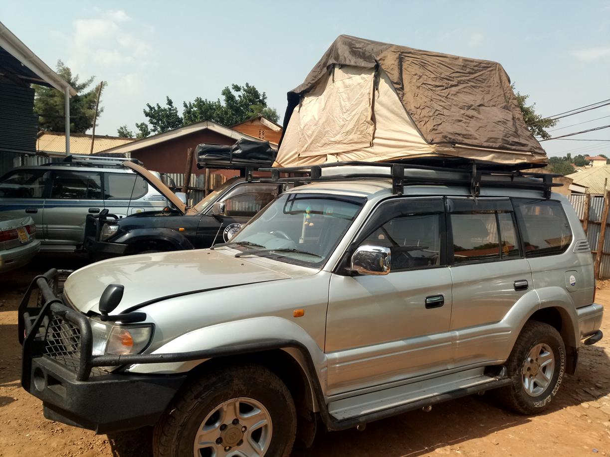 Rooftop Tent Car